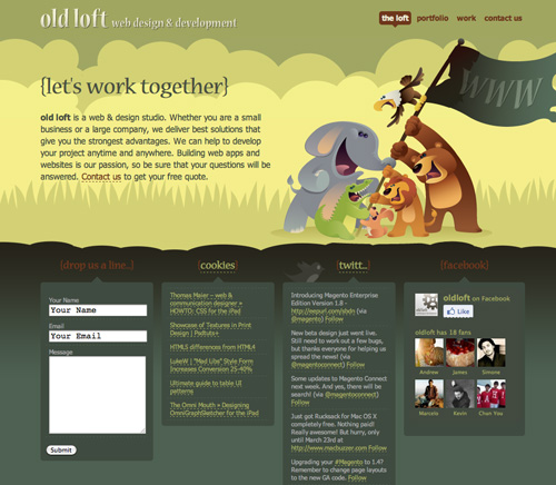 Character Design Web : Inspiration character illustrations in website design