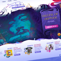 Preview for Inspiration: The Top 36 Musician Web Designs