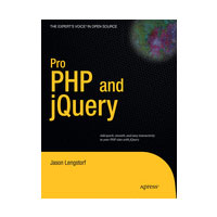 "Preview for Winners Announced: Free Copies of ""Pro PHP and jQuery"""