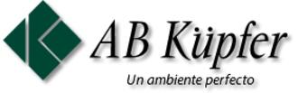 Large logo ab kupfer