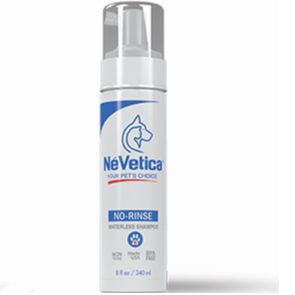 NéVetica No-Rinse Waterless Shampoo