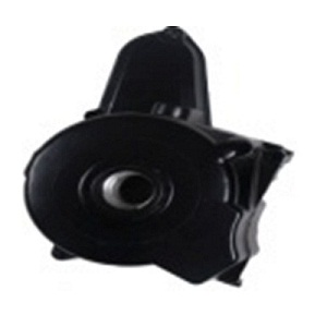 Left Engine Crankcase Cover; Black For Ata 110 B/B1  104511