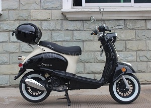Amigo Magari-50 49Cc Moped Scooter 4 Stroke Single Cylinder CA Approved