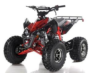 Apollo Blazer 9 DLX 125cc ATV, Full-Automatic  With Reverse