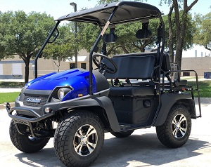 Fully Loaded Cazador OUTFITTER 200 Golf Cart 4 Seater Street Legal UTV - Fully Assembled and Tested