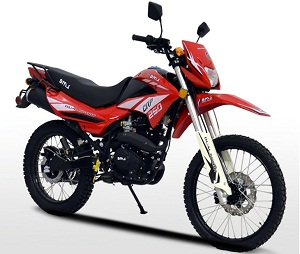 BMS ENDURO 250 CRP Dual Sport Dirt Bike