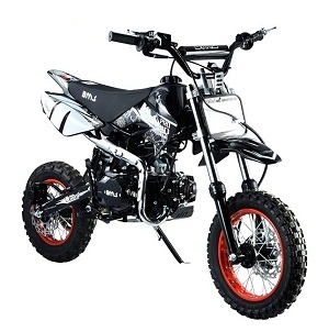 BMS Pro 110 Dirt Bike, Semi Auto Single Cylinder 4-stroke, Air Cooled