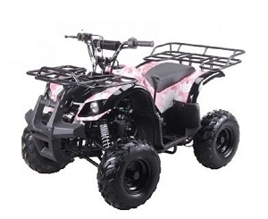 "KODIAK-HD 125CC ATV with REVERSE Big 16"" Tire - Fully Assembled and Tested"