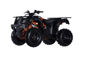 "ICE BEAR BULL 150(PAK150-3) AUTOMATIC W/REVERSE 10"" FRONT/9"" TIRE ATV"
