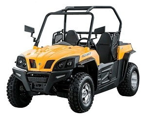 MASSIMO GUNNER 250S UTV, 250cc 16HP, Electric, Liquid-Cooled, Single Cylinder