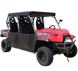 New Massimo MSU-800-5 UTV, 4-Wheel Disc Brakes, Fully Automatic