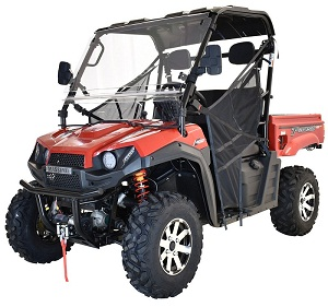 Massimo T-Boss 410 UTV, 352cc, Liquid Cooled, 4-Stroke, 1-Cylinder