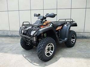 Vitacci Monster 300 cc  ATV ( 4 X 4 ) , Alloy wheels w/ winch