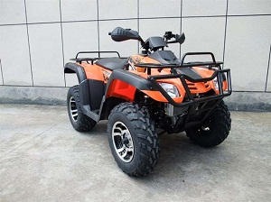 Vitacci Monster 300 cc  ATV (4 X 4) , Alloy Wheels Without Winch