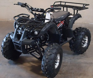 RPS High End Raider 8 125cc Kids ATV w/Upgraded Chrome Rims
