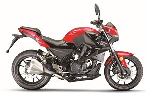 vitacci  gto 250cc sport bike efi, electric start