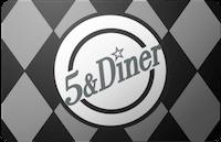 5 & Diner gift card