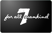 7 For All Mankind gift card
