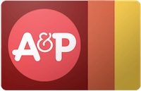 A&P gift card