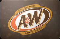 A&W gift card