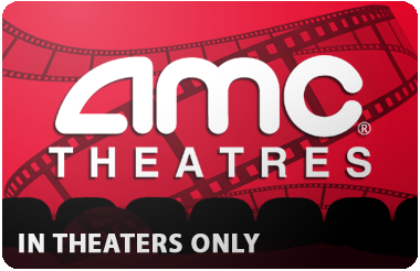 AMC Theaters (In Theatre Only) gift card