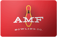 AMF Bowling Centers gift card