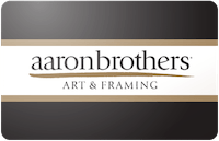 Aaron Brothers gift card