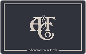Abercrombie gift card