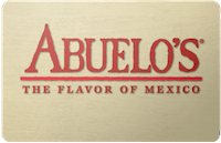 Abuelo's gift card