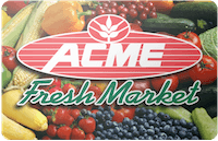 Acme Fresh gift card