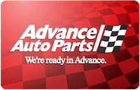 Advance Auto gift card