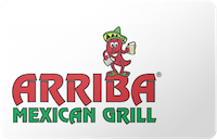 Arriba Mexican Grill gift card