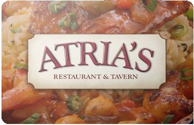 Atria's gift card
