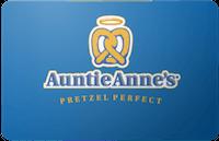 Auntie Annes gift card