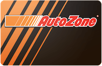 AutoZone In Store Only gift card