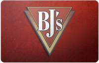 BJs Restaurant gift card