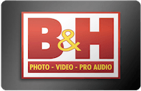 B&H gift card