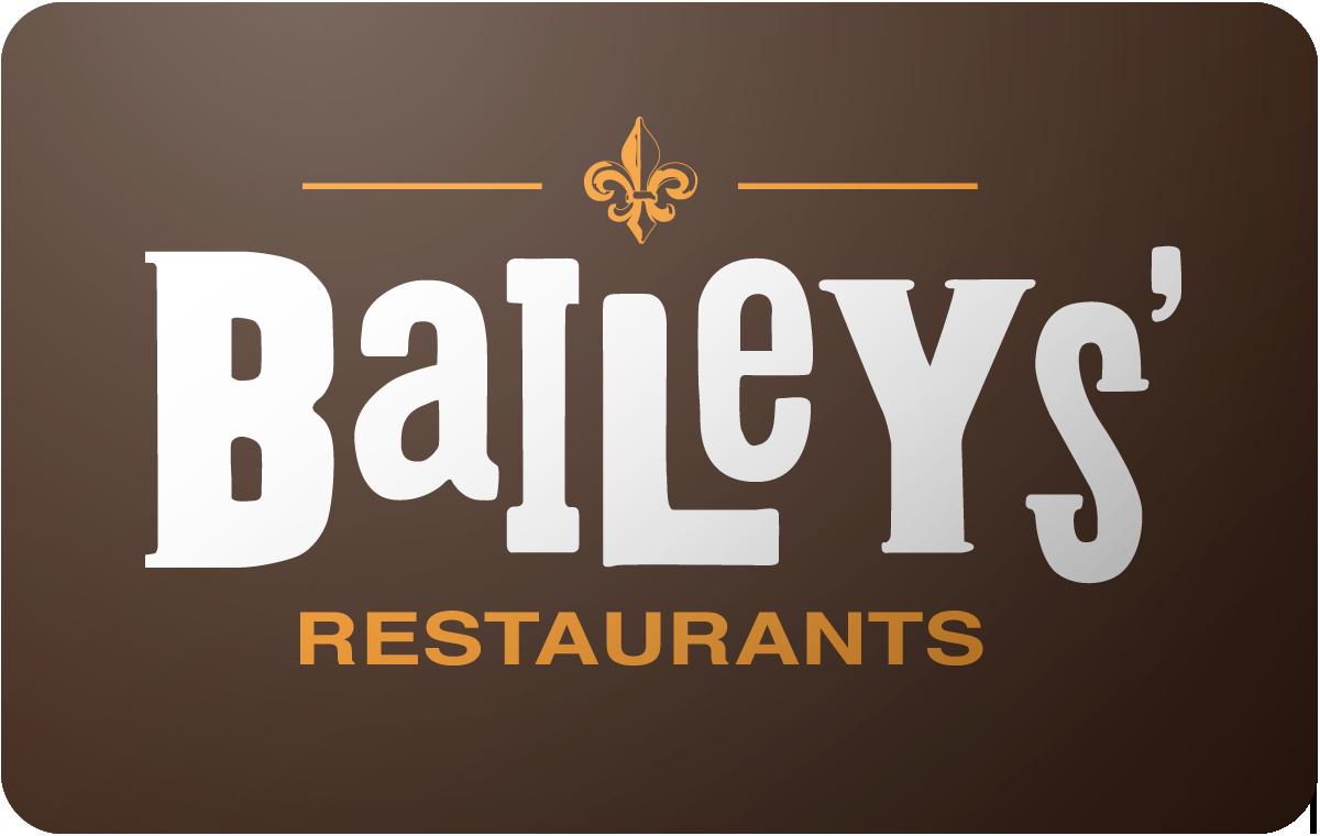 Baileys Restaurant gift card