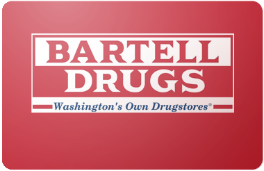 Bartell Drug gift card