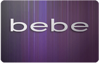Bebe gift card