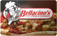 Bellacinos gift card