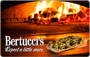 Bertuccis gift card