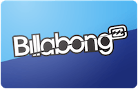 Billabong gift card