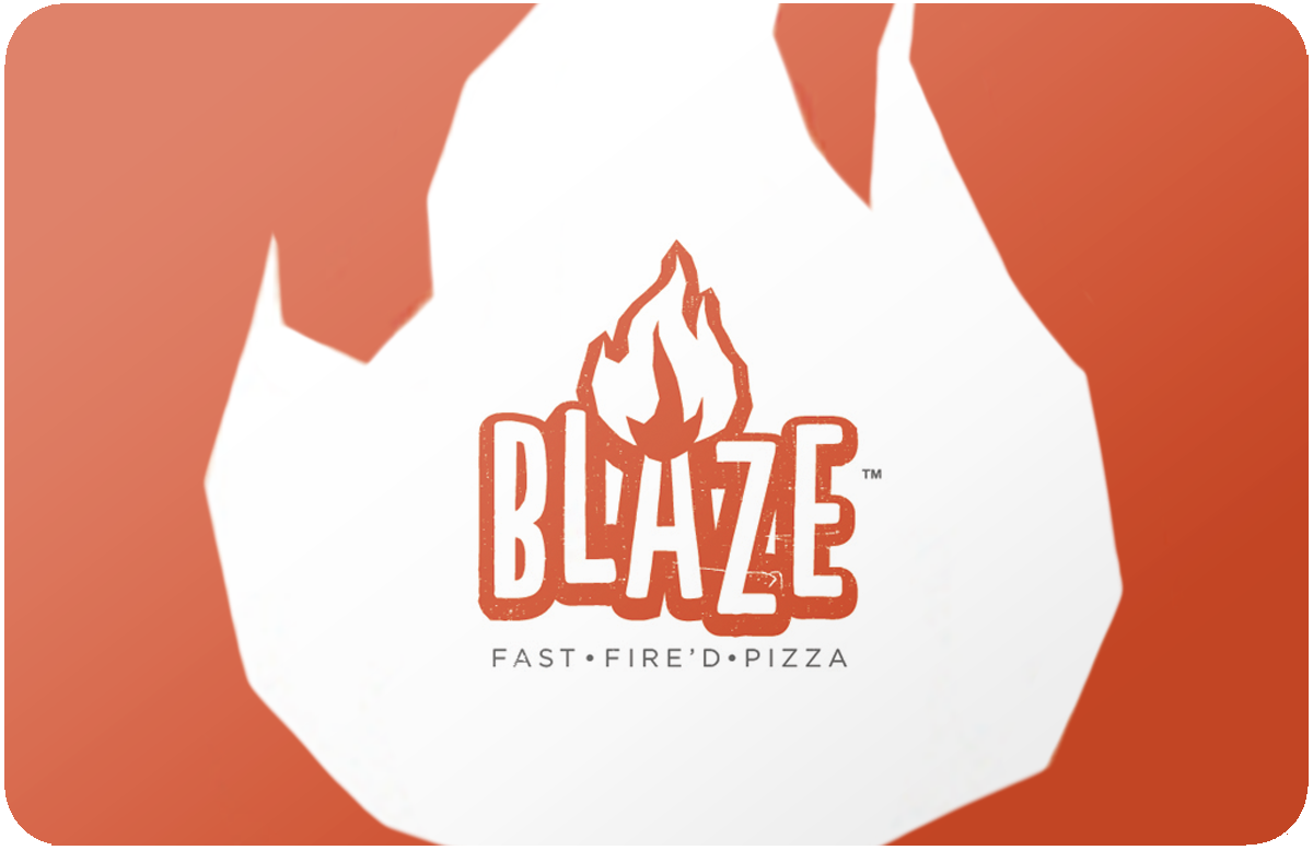 Blaze Pizza gift card
