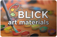 Blick Art Materials gift card