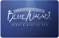 Blue Wasabi gift card