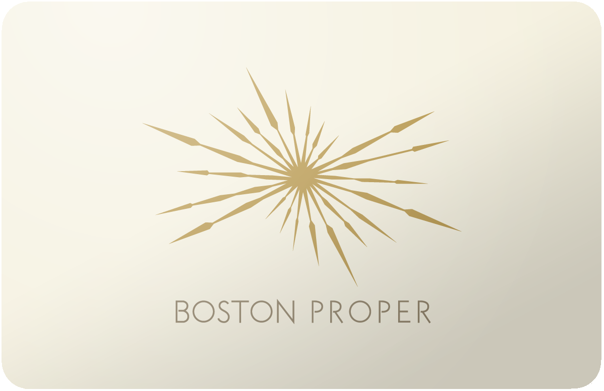 Boston Proper gift card