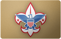 Boy Scouts of America gift card