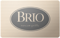 Brio Italian gift card