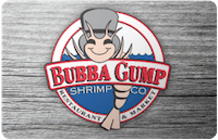 Bubba Gump Shrimp Co. gift card